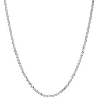 Pori Italian Sterling Silver 1 1mm Box Chain Necklace