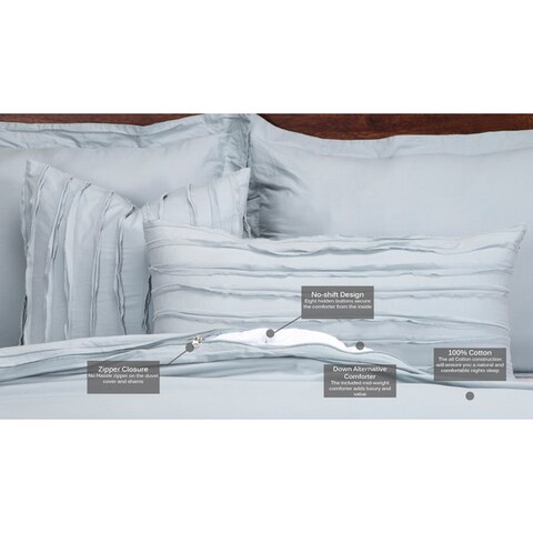 Siscovers Classic Cotton Luxury 6-piece Comforter Set