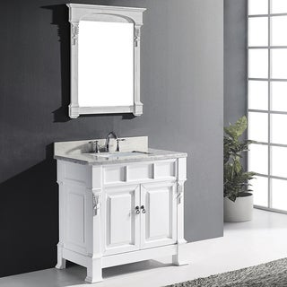 Virtu USA Huntshire 36-inch Single Bathroom Vanity Set with Faucet