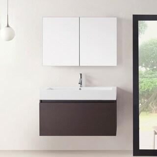 Virtu USA Zuri 39-inch Single Bathroom Vanity Set with Faucet