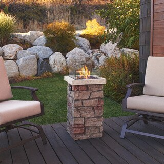 "Sedona 32"" Fire Column by Real Flame"