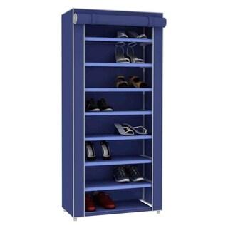 Sunbeam Blue 8-tier Shoe Closet (Option: Blue)