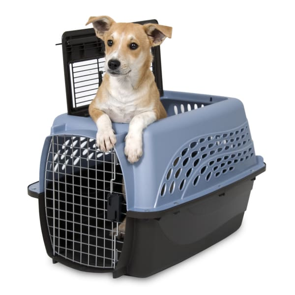 Petmate Top Load 2-door Kennel  sc 1 st  Overstock.com & Petmate Top Load 2-door Kennel - Free Shipping On Orders Over $45 ...