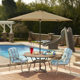 Mirage 9-ft Octagonal Market Umbrella with Auto-Tilt in Sunbrella Acrylic