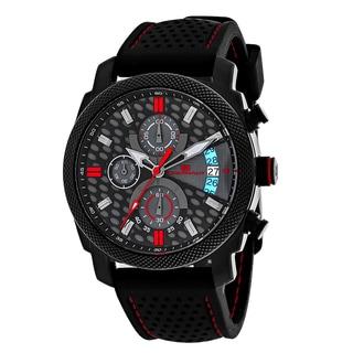 Oceanaut Men's OC2324 Kryptonite Round Black Rubber Strap Watch
