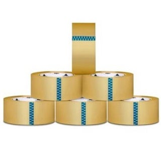 12 ROLLS Carton Box Sealing Packing / Shipping / Box Tape 1.6 Mil 2 Inch x 110 yard