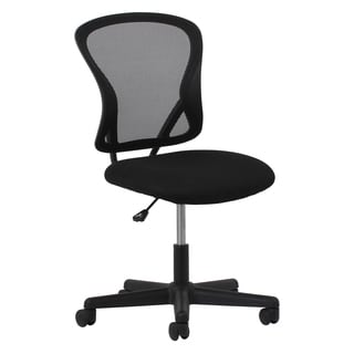 OFM Essentials Black Mesh Back Office Chair
