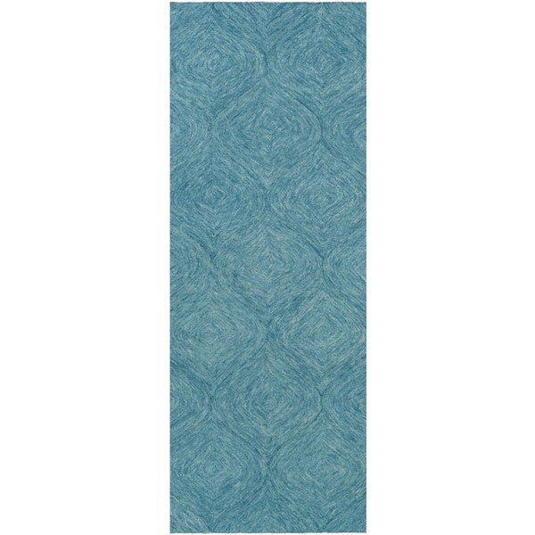 Hand Tufted Cory Wool Area Rug 2 X 8 Free Shipping