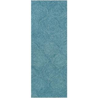 Hand-Tufted Cory Wool Area Rug (2' x 8')
