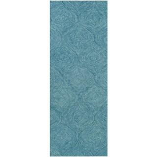 Hand-Tufted Cory Wool Area Rug