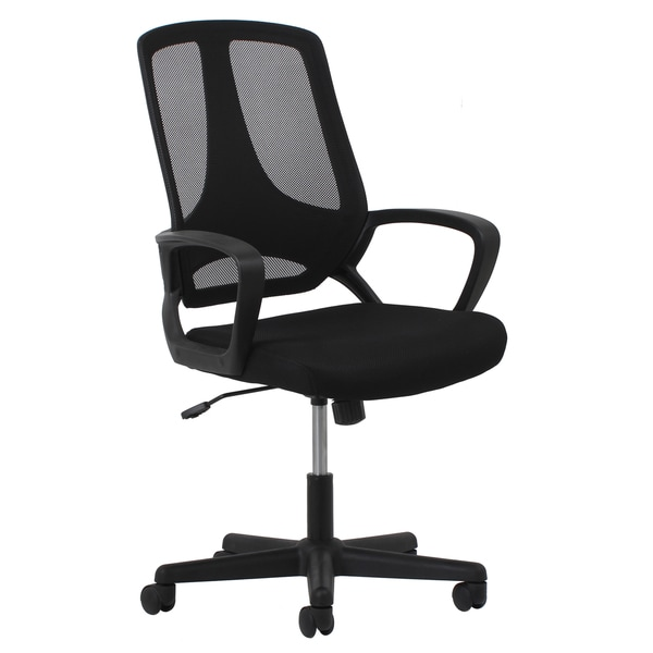 OFM Essentials Adjustable Black Task Chair - Free Shipping Today