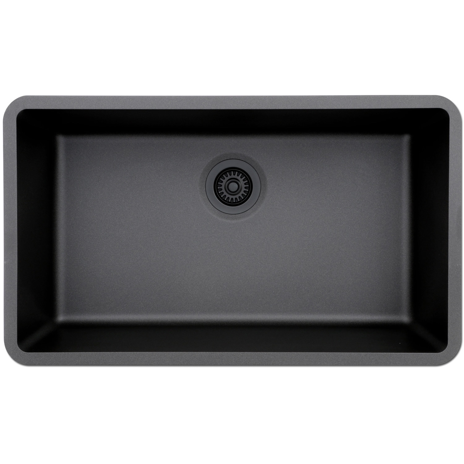 Lexicon Platinum Quartz Composite 32x19 Inch Kitchen Sink