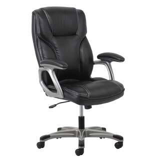 leather office & conference room chairs & seating - shop the best