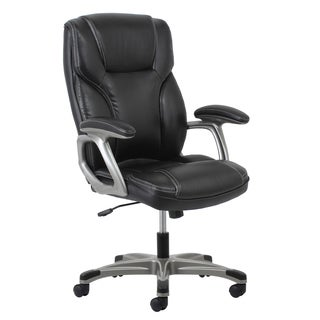 Merveilleux Clay Alder Home Ebey Leather Office Chair With Lumbar Support