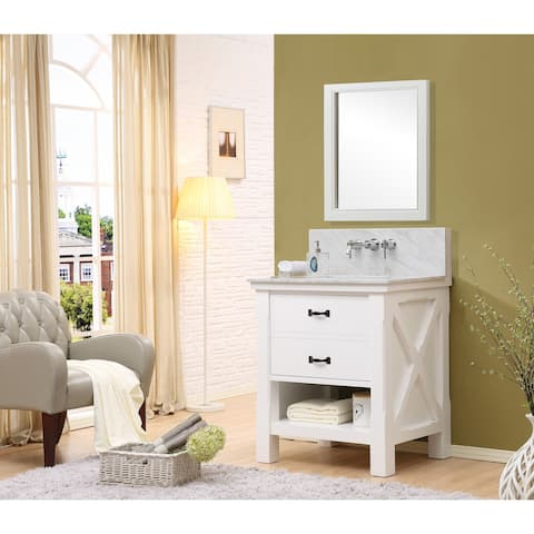 Direct Vanity Sink Xtraordinary Premium 32-inch White Vanity
