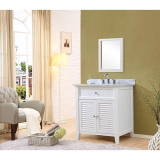 32 Inch White Vanity