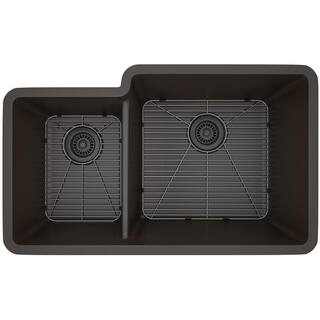 Double Basin Kitchen Sinks For Less   Overstock.com
