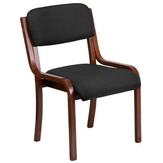 Fabric Wood Side Chair