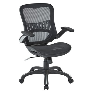 Black Mesh Seat and Back Manager's Chair (2 options available)