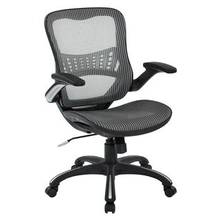 Office Star Mesh Seat and Back Manager's Chair
