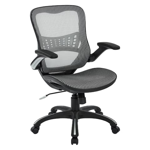 Black Mesh Seat and Back Manager's Chair