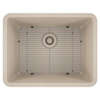 Lexicon Platinum Medium Single Bowl Quartz Composite Kitchen Sink