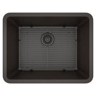 Lexicon Platinum Medium Single Bowl Quartz Composite Kitchen Sink|https://ak1.ostkcdn.com/images/products/11607115/P18544759.jpg?impolicy=medium