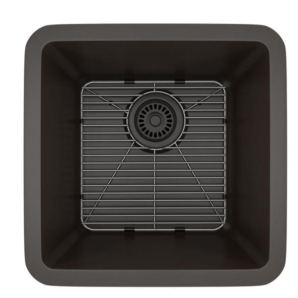 Lexicon Platinum Small Single Bowl Quartz Composite Kitchen Sink. Opens flyout.