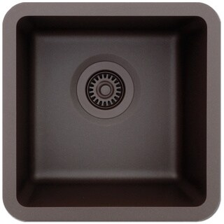 Lexicon Platinum Small Single Bowl Quartz Composite Kitchen Sink (5 options available)