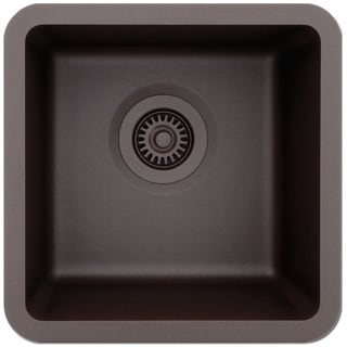Lexicon Platinum Small Single Bowl Quartz Composite Kitchen Sink