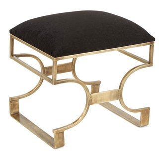 Black and Brass Stool