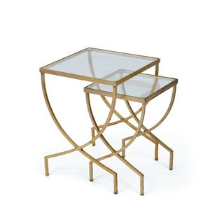 Hip Vintage Set of Two Harvey Nesting Tables