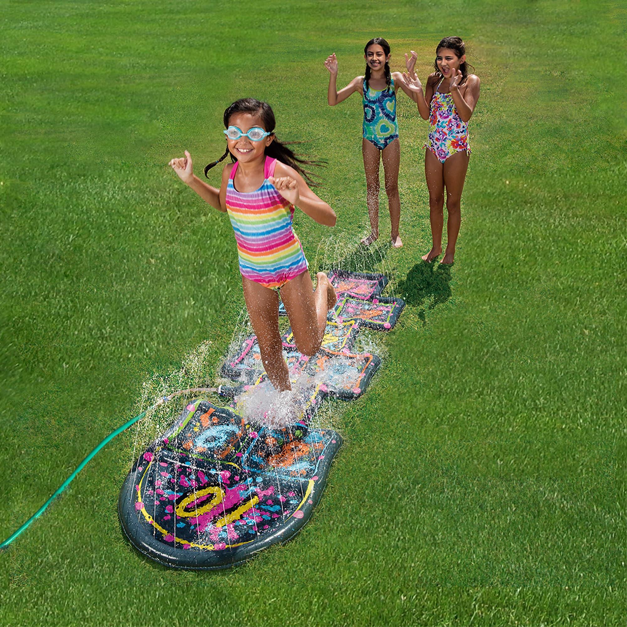 Blue Wave 3D Action Hopscotch Sprinkler Mat (Hopscotch Sp...