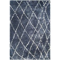 "Chione Erie Blue Area Rug - 3'11"" x 5'6"""