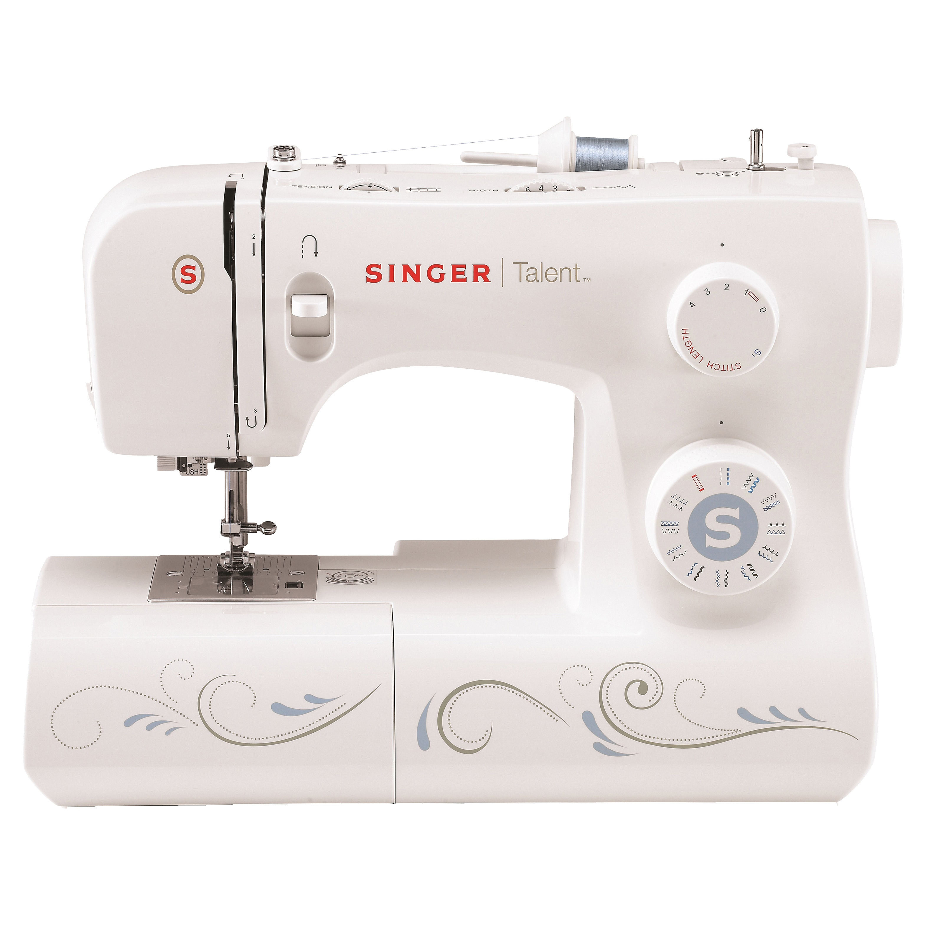 SINGER SEWING CO. Talent 3323 23-Stitch Sewing Machine, G...