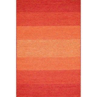 Indoor/ Outdoor Braided Spice Rug (5'0 x 7'6)