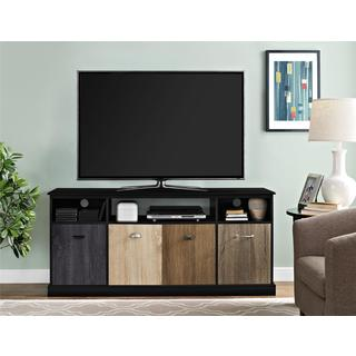 Altra Blackburn 60-inch TV Console with Multicolored Door Fronts