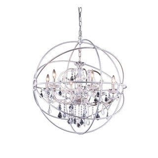 Bombay Durham Collection Polished Nickel Gyro Pendant Lamp