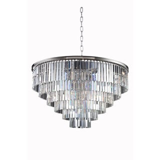 Bombay Perth Collection Grand Crystal Pendant Lamp