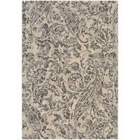Couristan Easton Prescott/Ivory-Black-Grey Area Rug