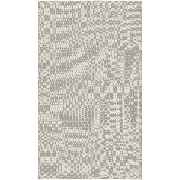Hand-Woven Villa Diamonds Caramel Indoor/Outdoor Area Rug - 5' x 8'