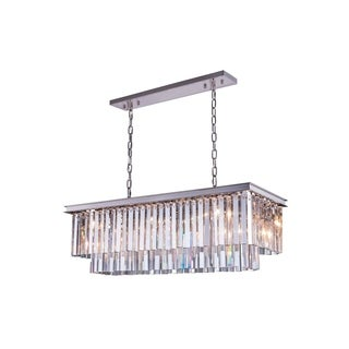 Somette Perth Collection Grand Crystal Pendant Lamp