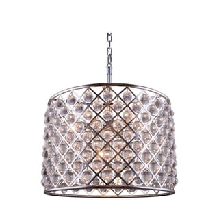 Bombay Allston Collection Crystal Trellis Pendant Lamp