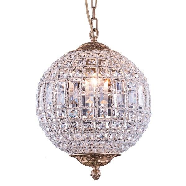 Bombay winsted collection crystal globe pendant lamp free bombay winsted collection crystal globe pendant lamp aloadofball Image collections