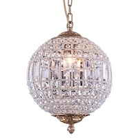 Shop bombay winsted collection crystal globe pendant lamp free bombay winsted collection crystal globe pendant lamp aloadofball Images
