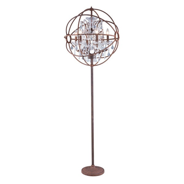 shop bombay u2122 durham collection rustic intent gyro 72-inch floor lamp