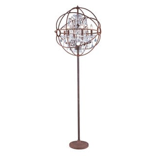Bombay Durham Collection Rustic intent Gyro 72-inch Floor Lamp