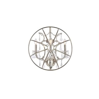 Bombay Durham Collection Polished Nickel Gyro Wall Sconce