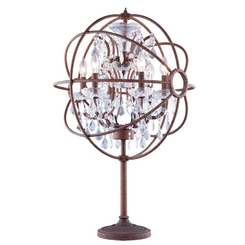 Bombay Durham Collection Rustic Bronze Gyro 34-inch Table Lamp