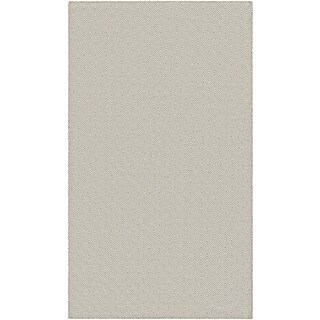Hand-Woven Couristan Cottages Manhasset/Caramel Indoor/Outdoor PET High Content Recycled Materials Rug (8' x 10')